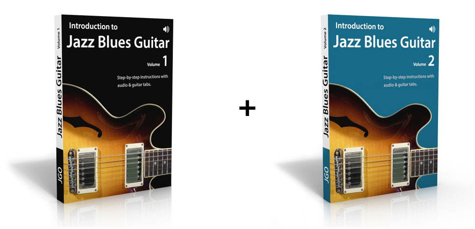 Introduction to Jazz Blues Guitar Volume 1 & 2