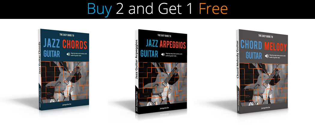 The Easy Guide to Jazz Guitar 3 eBook Bundle