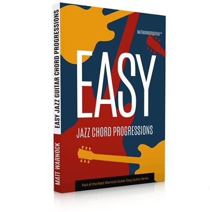 Easy Jazz Guitar Chord Progressions eBook