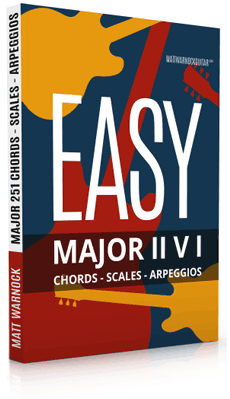 Easy Major II V I Progressions