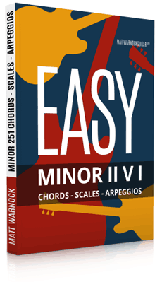 Easy Minor II V I Progressions