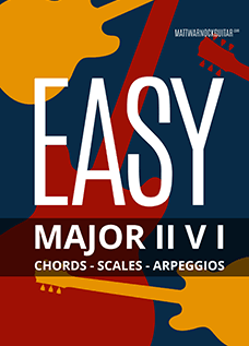 Easy Major II V I Chord Progressions