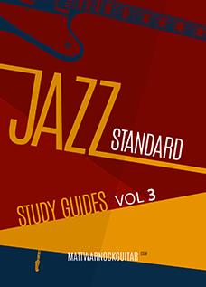 Jazz Standard Study Guides Vol 3